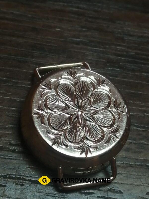 Ручная гравировка на металле